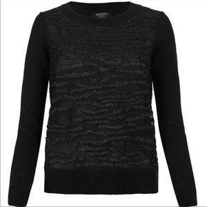 All Saints Armatura Jumper Knit Cotton Sweater
